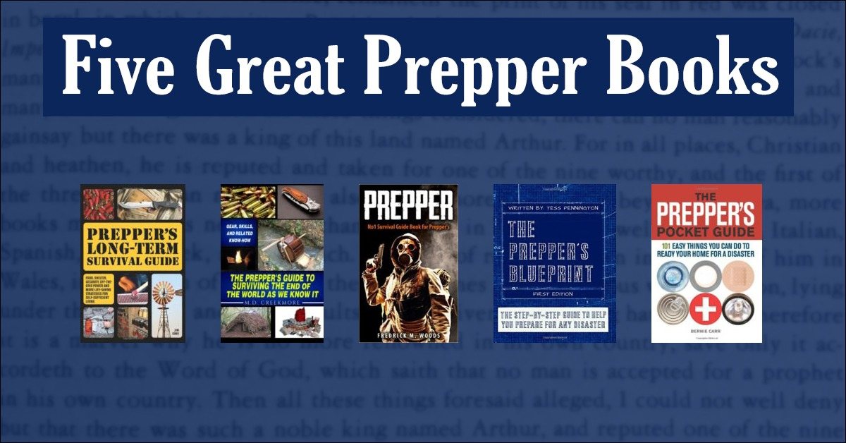 Five Great Prepper Books