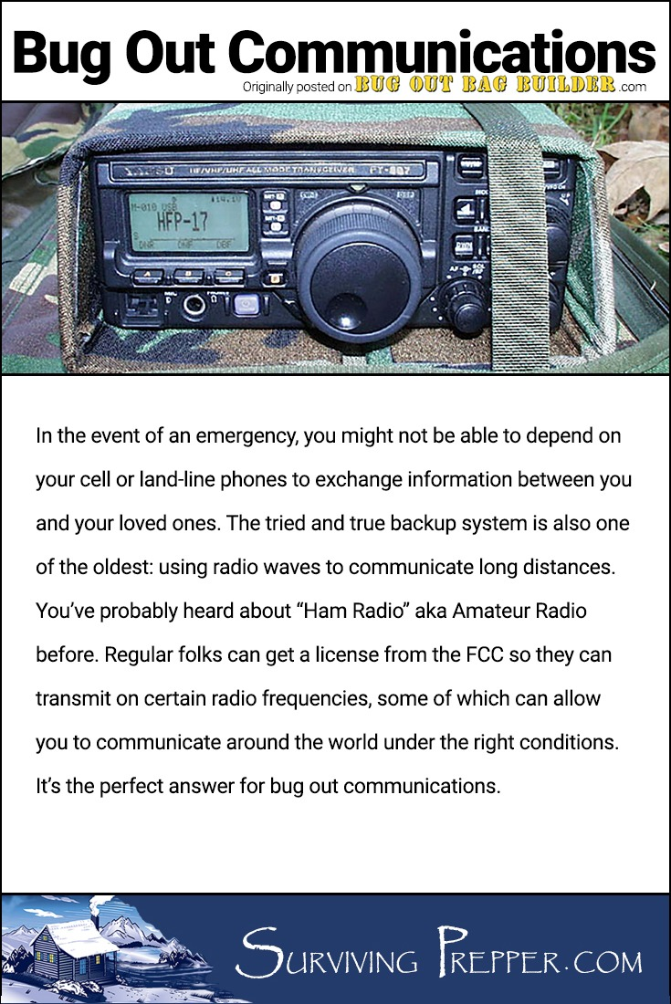 "In the event of an emergency, you might not be able to depend on your cell or land-line phones to exchange information between you and your loved ones. The tried and true backup system is also one of the oldest: using radio waves to communicate long distances. You've probably heard about it before, its called ""Ham Radio"" aka Amateur Radio."