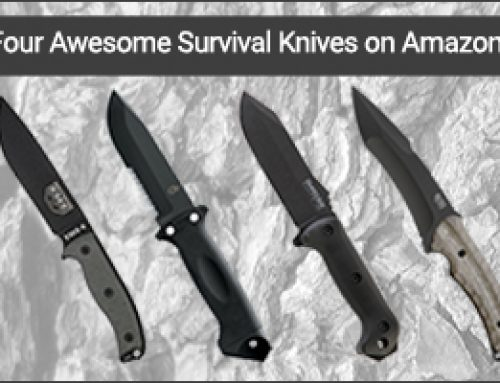 Four Awesome Survival Knives on Amazon