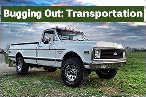 Bugging Out: Transportation
