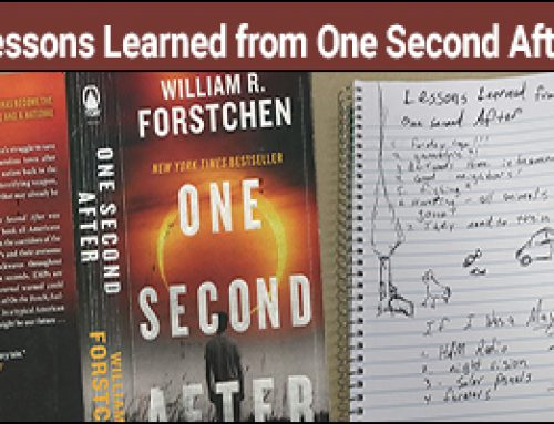 Lessons Learned from One Second After