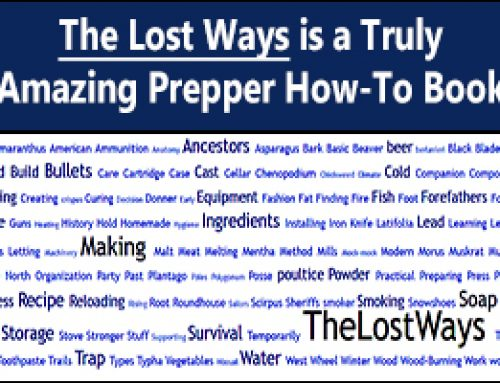 The Lost Ways – A Truly Amazing Prepper Book