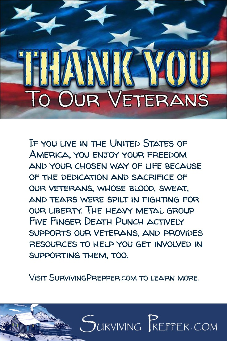 if you live in the USA, you enjoy your freedom because of the dedication and sacrifice of our veterans. Learn how you can support veterans here.