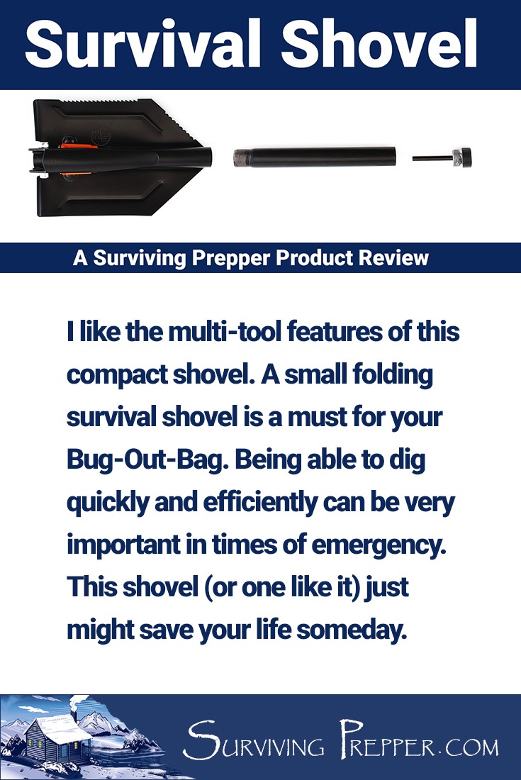 Being able to dig quickly and efficiently can be important in times of emergency. This shovel just might save your life someday.