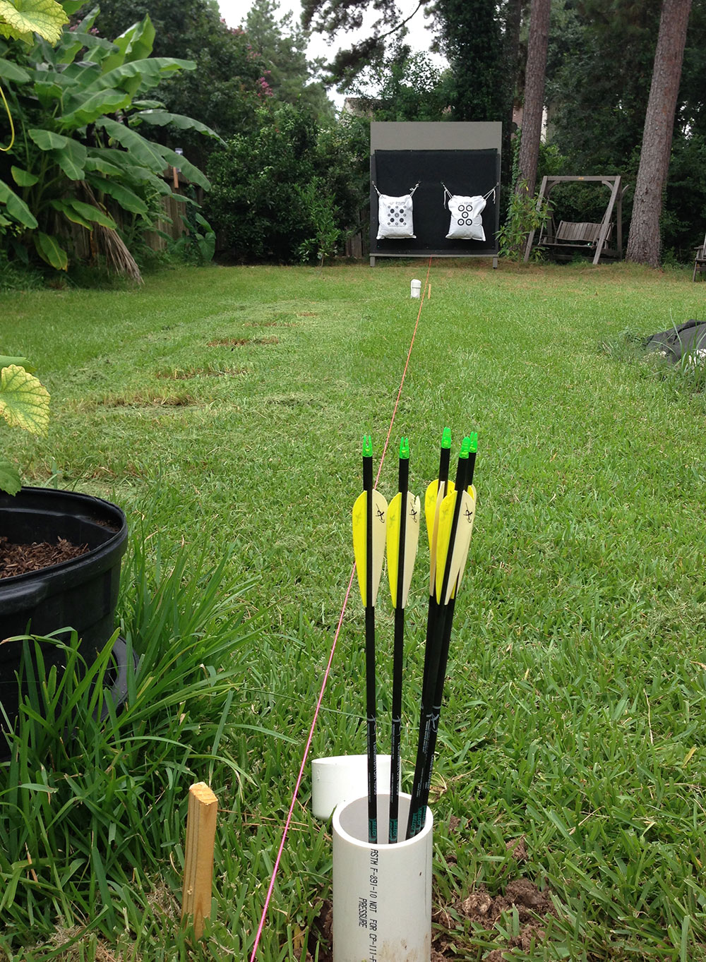 Backyard Archery Range