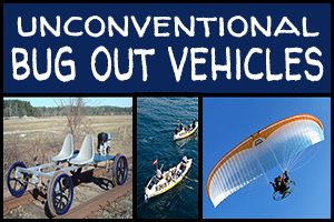 Unconventional Bug Out Vehicles