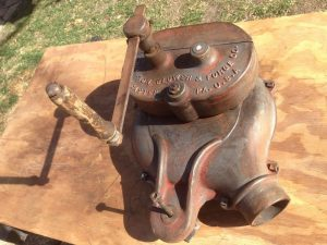 Blacksmith Hand Crank Blower Pic