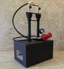 Gas Blacksmith Forge Pic