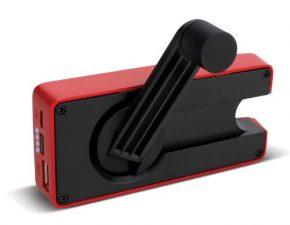 Eton BoostTurbine 2000mAh Portable Backup Battery Pack with Hand Crank Back-Up Power