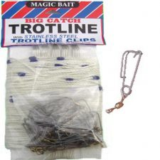 magic bait big catch 150 feet trotline white