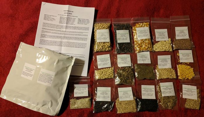 Family Survival Seed Pack