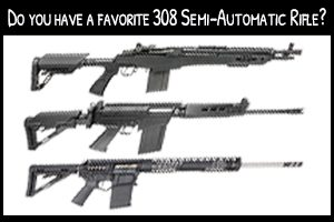 .308 Semi-Auto Rifles