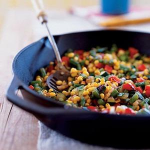 Charred Summer Vegetables