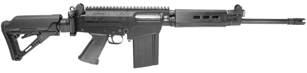 DSA SA58 16 Compact Tactical Carbine PARA Stock Rifle