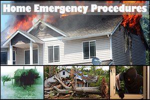 Home Emergency Procedures