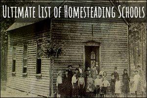 Ultimate List of Homesteading Schools