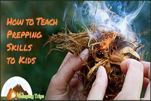 Teach Kids Prepping Skills