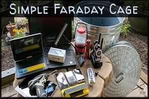 Simple Faraday Cage