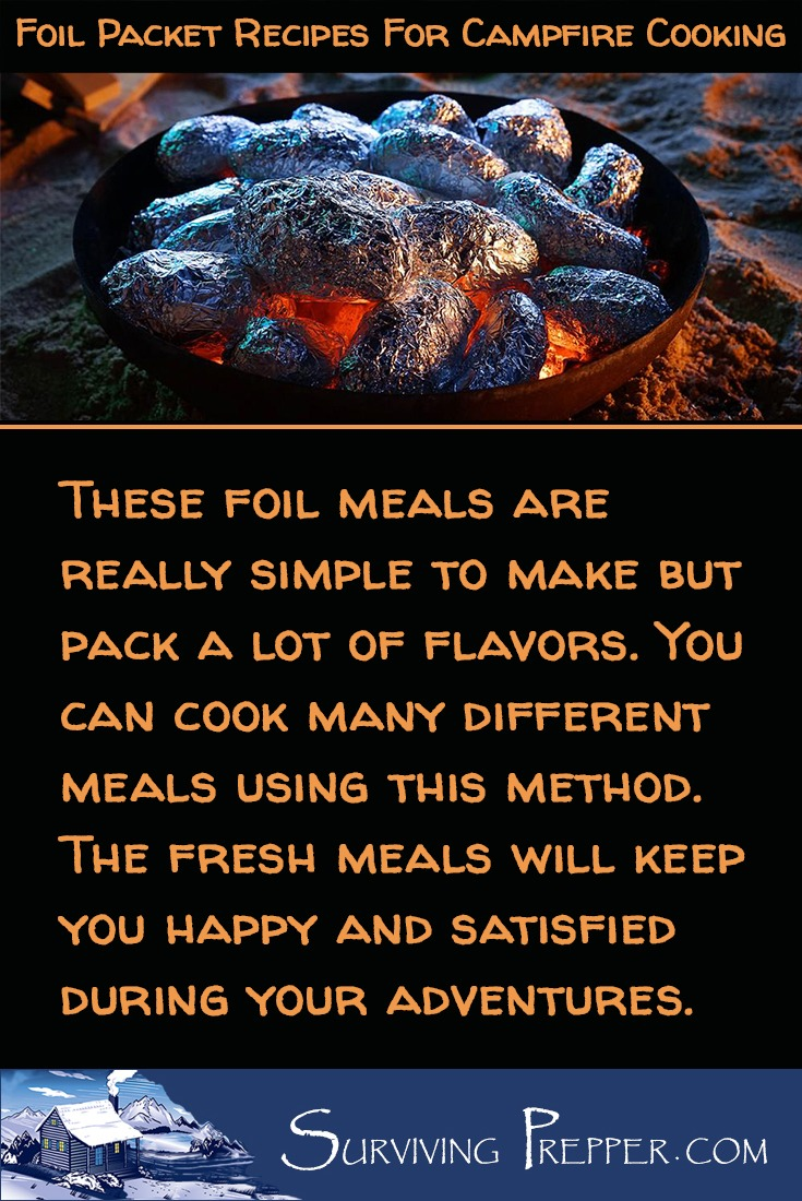 Foil packet meals cooked on your campfire coals are really simple to make, pack a lot of flavor, and keep campers fueled for adventure!