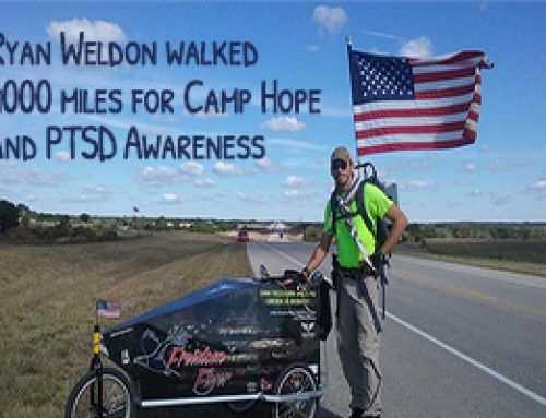 Ryan Weldon PTSD Awareness and Camp Hope