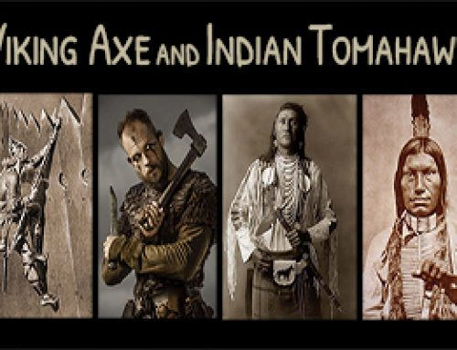 Viking Axe and Indian Tomahawk