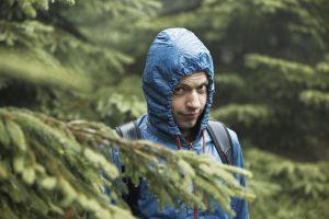 Hike in the rain