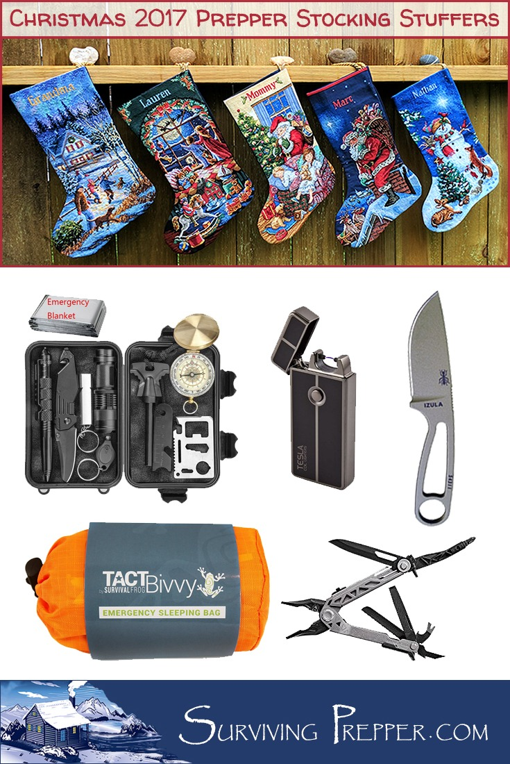 These 2017 stocking stuffers for preppers are awesome. But they need to be ordered quick, because the last thing you want to do is disappoint a prepper!