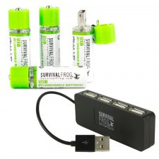 EasyPower USB AA Rechargeable Batteries