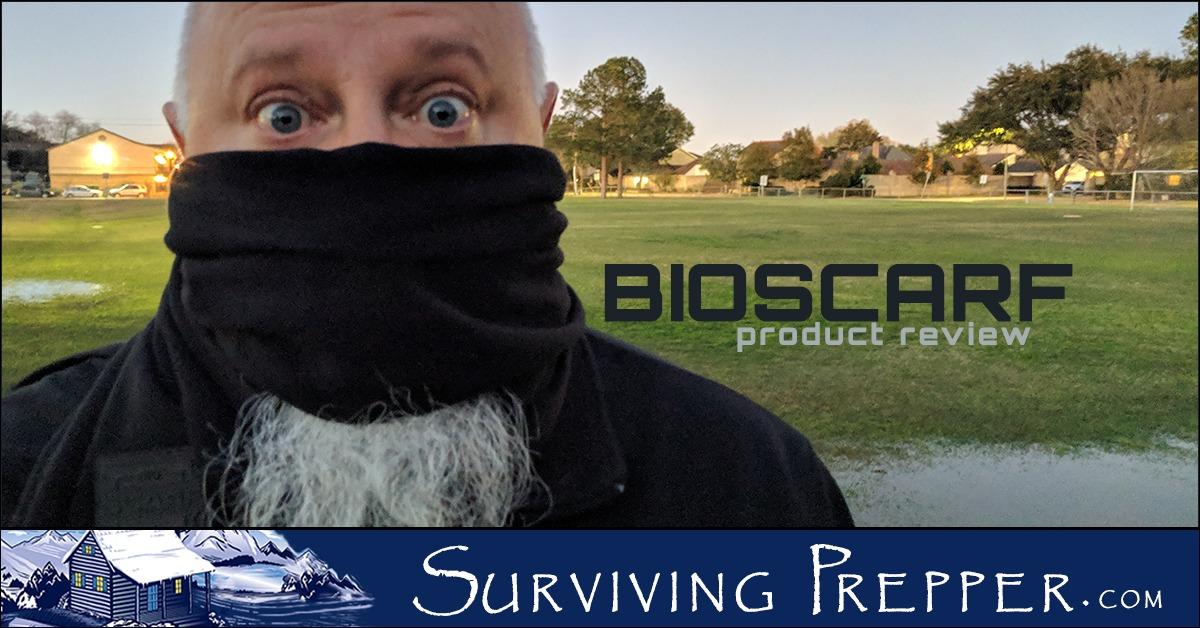 Bioscarf Product Review Surviving Prepper