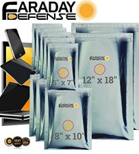 Faraday Cage EMP Bags - protect your electronic in your bug out bag