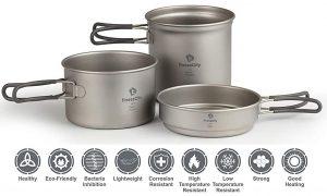 Titanium Camping Cookware