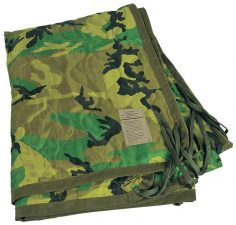 Medals of America Military Woodland Poncho Liner Woobie