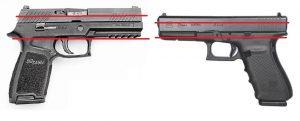 SIG P320 vs Glock 21